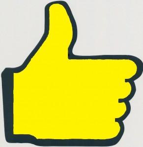 Main jaune